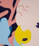 Tête de lit Bleu Turquoise Morgane Bezou Faune