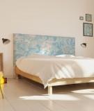 Tête de lit 160 cm Bleu Morgane Bezou Flore