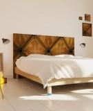 Tête de lit 160 cm Marron Barbara Formica Chapelle