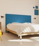 Tête de lit 160 cm Bleu Emmanuel Somot Facette