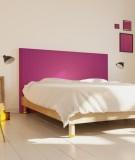 Tête de lit 160 cm Violet Emmanuel Somot Facette