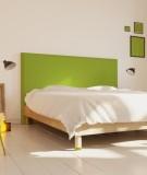 Tête de lit 160 cm Vert Emmanuel Somot Facette