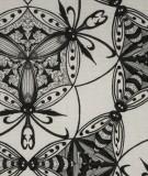 Tête de lit Noir Blanc Maya Thomas Bug's Circle