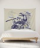 tenture-murale-L-lit-180-violet-missy-le-chant-exotique