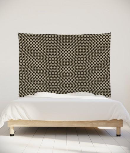 tenture-M-lit-160-beige-grand-alexia-schroeder-ethnique-graphique