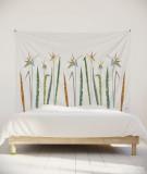 tapisserie-M-lit-160-blanc-fleur-axelle-grosperrin