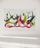 tapisserie-murale-L-lit-180-vert-rouge-leontine-soulier-ornement-floral