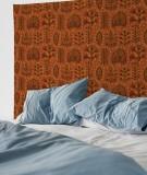 tapisserie-M-lit-160-marron-suzy-vergez-plantes