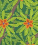 tete-de-lit-tissu-vert-fonce-jennifer-yerkes-fleurs-d-inde