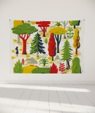 tapisserie-murale-L-lit-180-vert-jaune-laurent-moreau-foret