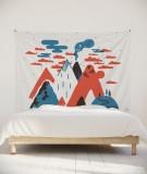 tenture-murale-L-lit-180-orange-laurent-moreau-volcan