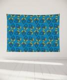 tapisserie-murale-L-lit-180-bleu-grand-myriame-el-jorfi-bar