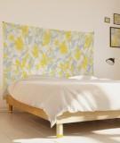 tenture-M-lit-160-gris-jaune-marion-hamaide-flamant