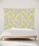 tenture-murale-L-lit-180-gris-jaune-marion-hamaide-flamant