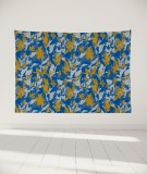 tapisserie-murale-L-lit-180-bleu-jaune-marion-hamaide-flamant