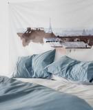 tenture-M-lit-160-blanc-marron-toits-de-paris-hossein-borojeni