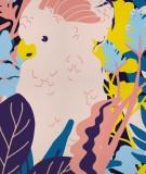 tete-de-lit-tissu-rose-jaune-bleu-morgane-bezou-faune