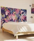 tenture-M-lit-160-rose-violet-bleu-morgane-bezou-faune