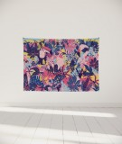 tenture-murale-S-lit-140-rose-violet-bleu-morgane-bezou-faune