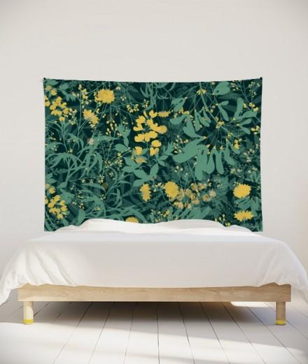 tenture-M-lit-160-vert-morgane-bezou-flore