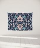 tenture-murale-S-lit-140-bleu-rose-morgane-bezou-kaleidoscope
