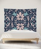 tenture-murale-L-lit-180-bleu-rose-morgane-bezou-kaleidoscope