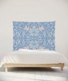 tenture-chambre-S-lit-140-bleu-clair-morgane-bezou-kaleidoscope