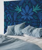tapisserie-M-lit-160-bleu-fonce-morgane-bezou-kaleidoscope