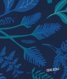 tete-de-lit-en-tissu-bleu-fonce-morgane-bezou-kaleidoscope