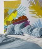 tapisserie-M-lit-160-jaune-marron-coco-hellein-bananier