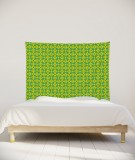 tenture-chambre-S-lit-140-vert-Nour-Paraja