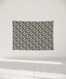 tenture-murale-S-lit-140-marron-Uroko-paraja