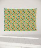 tapisserie-murale-L-lit-180-jaune-Uroko-paraja