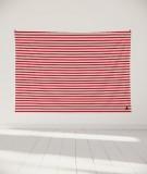 tapisserie-murale-L-lit-180-rouge-Marinière-Paraja