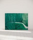 Tête de lit 160 cm Vert Suzy Vergez Forêt