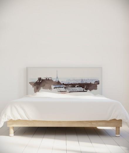 Tête de lit 160 cm Blanc Hossein Borojeni Toits de Paris