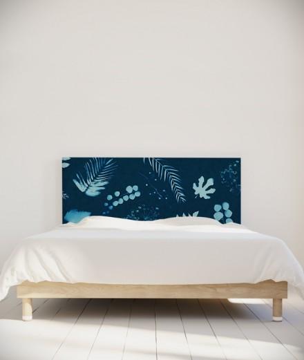 Tête de lit 160 cm Bleu Coco Hellein Sifnos