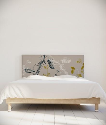 Tête de lit 160 cm Gris Coco Hellein Prunus