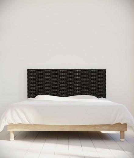 Tête de lit 160 cm Noir Paraja Kofi