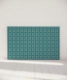Tête de lit 180 cm Turquoise Paraja Nour