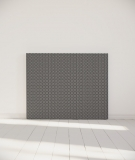 Tête de lit 140 cm Noir Blanc Alexia Schroeder Ethnique graphique