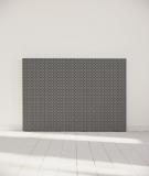 Tête de lit 160 cm Noir Gris Alexia Schroeder Ethnique graphique
