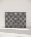 Tête de lit 160 cm Noir Blanc Alexia Schroeder Ethnique graphique