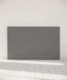 Tête de lit 180 cm Noir Blanc Alexia Schroeder Ethnique graphique