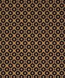 Tête de lit Noir Marron Alexia Schroeder Ethnique graphique